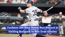 The Yankees Set A New Standard For Home Runs