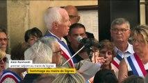 """""""Pour nous, c'était avant tout Jeannot"""" : les habitants de Signes rendent hommage à leur maire"""