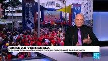 Venezuela : Les sanctions américaines, cadeau empoisonné pour l'opposition