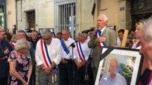 Les habitants de Signes rendent hommage à leur maire Jean Mathieu Michel