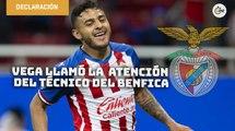 Alexis Vega llamó la atención del técnico del Benfica en la ICC