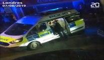 Londres: Un policier gravement blessé par un homme armé d'une machette