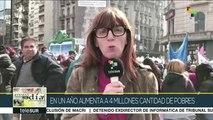 Temas del Día: En un año Argentina aumenta a 4 millones de pobres