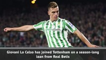 Tottenham sign Lo Celso on season-long loan