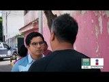 Ciudadano intenta arrollar a ladrones en Puebla | Noticias con Francisco Zea