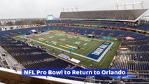 Orlando Welcomes The NFL Pro Bowl Back