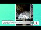 Familias completas saquean tren en Cañada Morelos, Puebla | Noticias con Francisco Zea