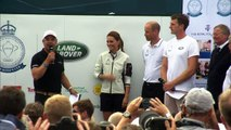 Duchess of Cambridge wins wooden spoon at regatta race