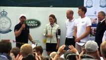 Duchess of Cambridge wins wooden spoon at regatta race