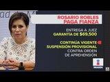 ¿Cuánto pagó Rosario Robles para que no la detuvieran? | Noticias con Ciro Gómez Leyva