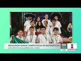 México obtiene medalla de oro en Olimpiadas de Matemáticas en Sudáfrica | Noticias con Paco Zea