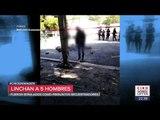 Golpean y cuelgan de un árbol a 5 presuntos secuestradores en Puebla | Ciro Gómez Leyva
