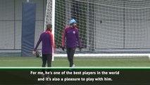 Bernardo Silva helped convince me to join - Cancelo