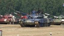 Syria, Iran, and Venezuela take part in Russian tank 'biathlon'