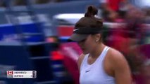 Crowd favourite Andreescu beats Bertens to reach Rogers Cup quarters