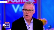 Andrew McCabe Suing DOJ, FBI Over His Firing