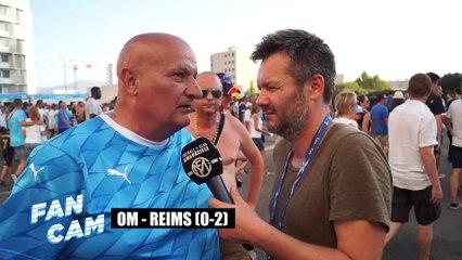 Fan Cam OM -Reims (0-2) : Grosse colère des supporters contre Eyraud et les joueurs !