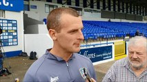 Oran Kearney gives his reaction to Saturday's draw