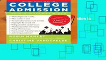 [Doc] College Admission: From Application to Acceptance, Step by Step