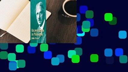 [READ] Reconstruction in Philosophy
