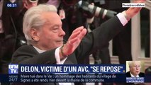 Que sait-on de l'état de santé d'Alain Delon après son AVC?