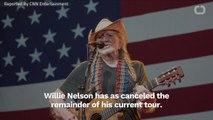 Willie Nelson Cancels Tour
