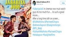 Jabariya Jodi Twitter Reaction:  Sidharth Malhotra & Parineeti Chopra praise by fans  | FilmiBeat