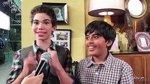 Cameron Boyce & Karan Brar Talk Pranks & Jessie Season 2