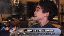Cameron Boyce On Set 'Jessie' Interview