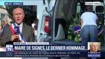 """Signes: le maire de Néoules """"regrette"""" qu'Emmanuel Macron ne soit pas présent aux obsèques"""