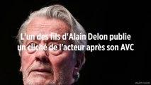 L'un des fils d'Alain Delon publie un cliché de l'acteur après son AVC