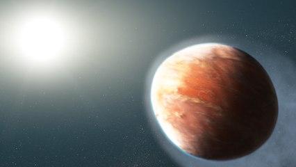 WASP-121b Este Exoplaneta SE FUNDE! emite metales al espacio y tiene forma de balón de rugby