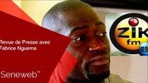 Revue de Presse du 9 Aout 2019 avec Fabrice Nguema