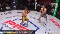"""Maxim Grishin inflige un terrible """"One Punch"""" KO à Mikhail Mokhnatkin en 48 secondes"""