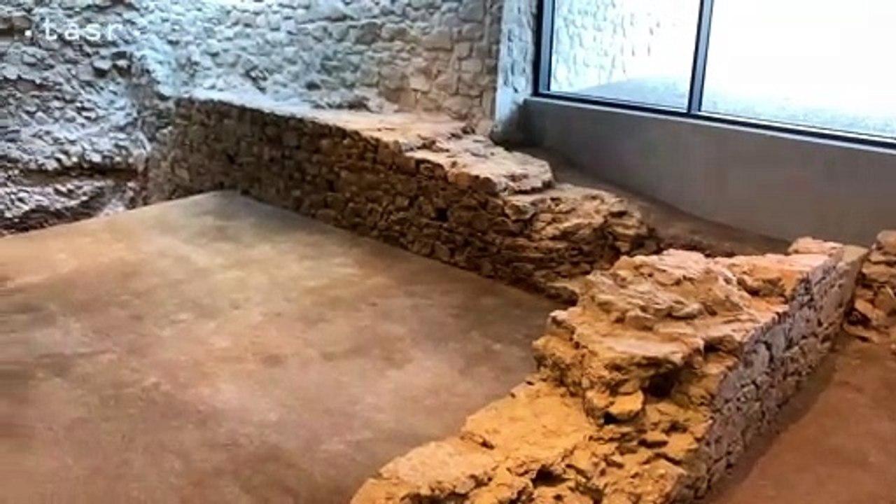 Archeologické nálezy pod Bratislavským hradom budú prezentované verejnosti