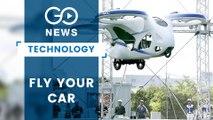 Japan Firm Tests Flying Car
