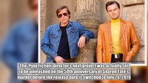 Quentin Tarantino's 'Once Upon a Time in Hollywood' to Be Released Early