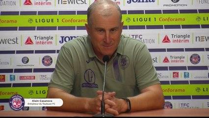 """""""Nous ne sommes pas encore totalement prêts"""", la conférence de presse d'Alain Casanova avant Brest/TFC"""