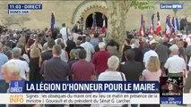 Obsèques du maire de Signes: une minute de silence respectée avant que la Marseillaise soit entonnée
