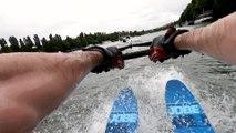 Faire du ski nautique sur la Seine, c'est possible !