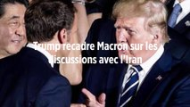 Trump recadre Macron sur les discussions avec l'Iran
