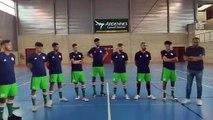 premier stage de l'équipe d'Algérie de Futsal
