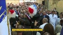 Signes a rendu hommage à son maire Jean-Mathieu Michel