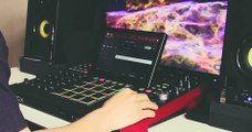 Making a hip hop beat on the AKAI MPC X - MARK GENEROUS