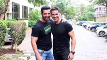Akshay Kumar And John Abraham REUNITE To Promote Upcoming Films