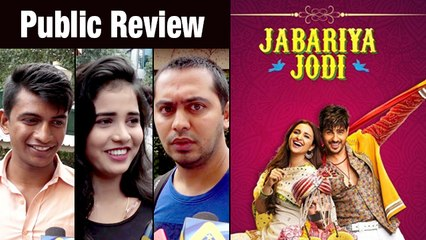 Public Review For Film Jabariya Jodi