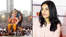 Actress Amrita Rao Launched Eco-Friendly Ganpati Festival