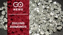 Diamond Exports Decline