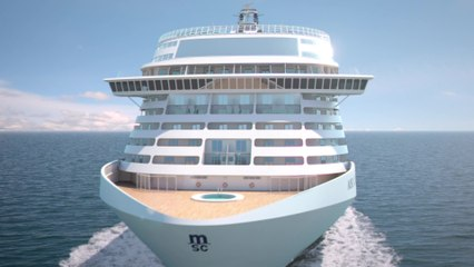 The biggest ship in the MSC fleet is coming -  The countdown for MSC Grandiosa's Baptism to start