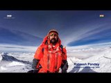 Meet Ratnesh Pandey - The first person to recite national anthem at Mount Everest